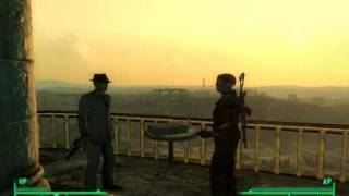 Fallout 3: Mr. Burke and Roy Phillips, + Megaton Explosion