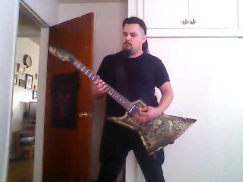 Damien  Iced Earth guitar