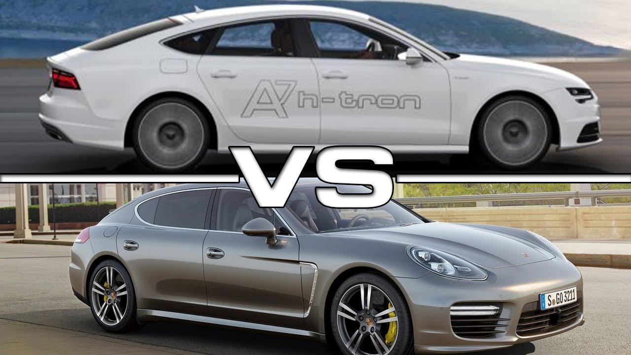 Audi A7 Vs Porsche Panamera Youtube