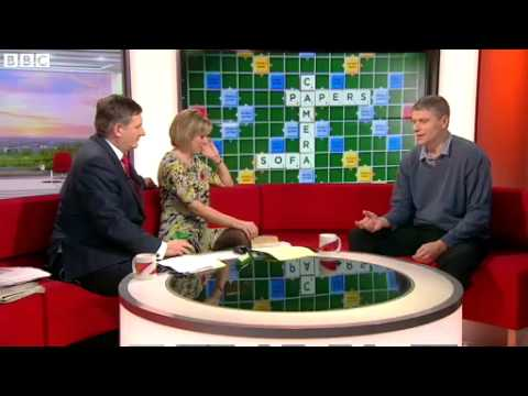 Scrabble contender put to test on BBC Breakfast