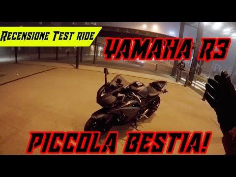 Recensione - Test Ride   Yamaha R3 - Piccola Bestia Entry-Level👌!