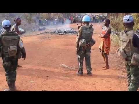 Central African Republic women protest rape in Bambari thumbnail
