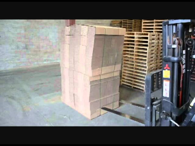 Emballages Mitchel-Lincoln Packaging   Learn the many advantages of using a fork lift for handling