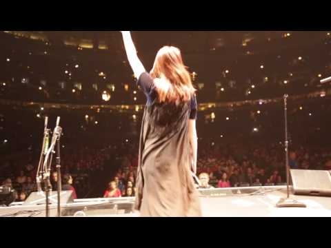 WE OPENED FOR BON JOVI AT THE UNITED CENTER IN CHICAGO