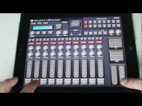 iPad Music App: S4 Rhythm Composer