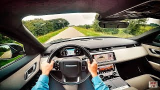 RANGE ROVER VELAR D300 SE R DYNAMIC POV TEST DRIVE BY DRIVE711