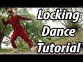 Old School locking Dance Move Tutorial | Advanced