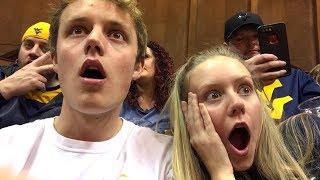 Top-Ranked WVU vs Kansas Basketball Game in Morgantown! (Vlog)
