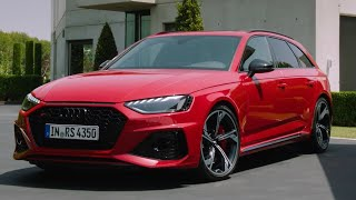 New Audi RS4 Avant Facelift (2020) - first look EXTERIOR, INTERIOR - what's new?