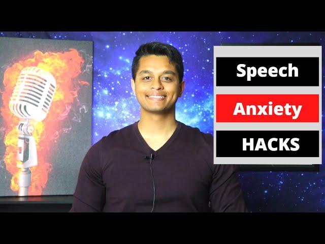 3 Speech HACKS to Build Presentation Skills & Melt Speech Anxiety