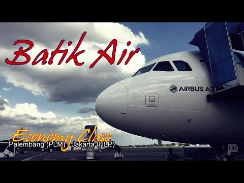 Flight Trip - Batik Air Economy Class from Palembang to Jakarta Halim