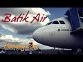 Flight Trip Batik Air Economy Class from Palembang to Jakarta Halim