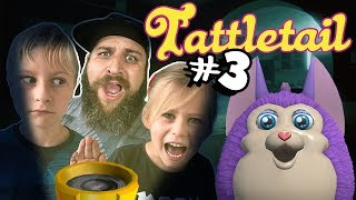 Let's Play TATTLETAIL#3 a Kids Horror Game No Swearing as Epic Family Gaming Plays a Scary Kids Game