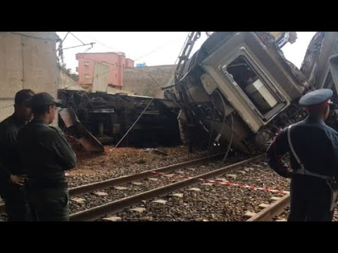 At least six dead in Morocco train crash