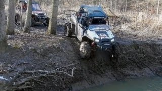 Polaris RZR XP vs Can-Am  Commander X  - Technical Trail Riding