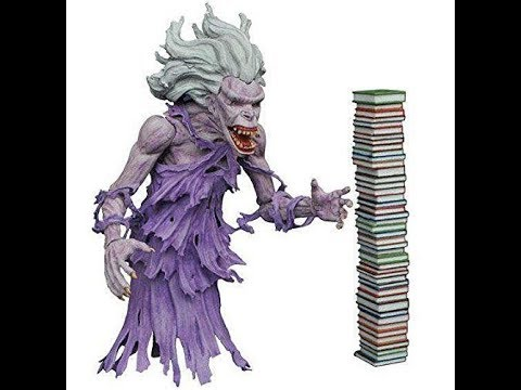 Unboxing Dimond Select Ghostbusters Library Ghost