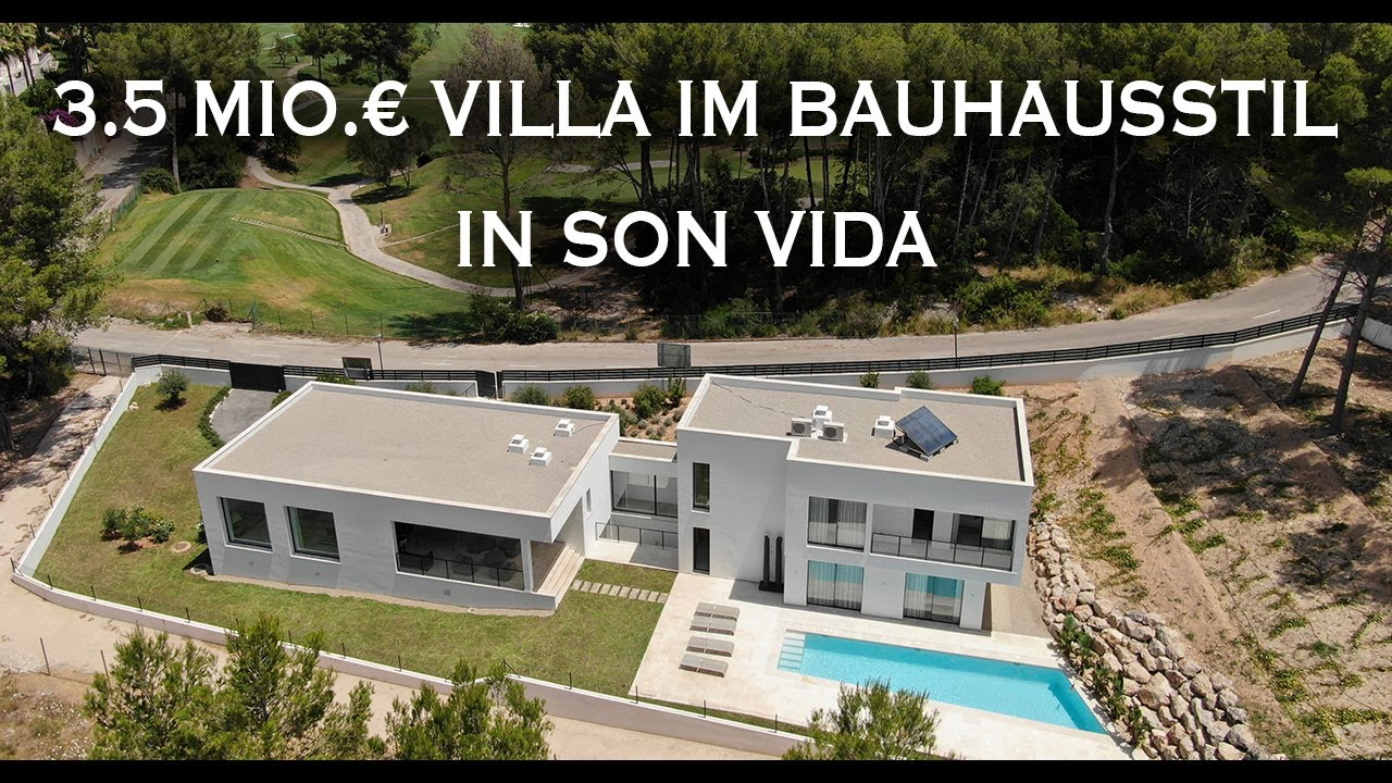 3.5 Mio. € Villa im Bauhausstil in Son Vida