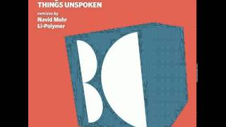 Jelly For The Babies - Things Unspoken (Original Mix)