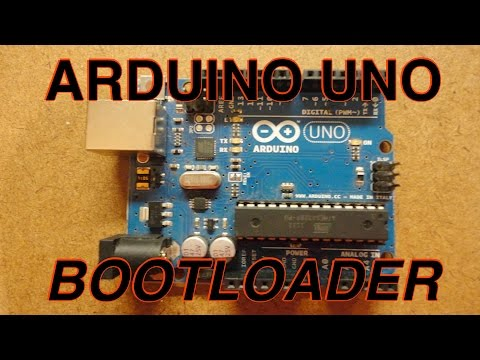 Burn a Bootloader onto Arduino Uno
