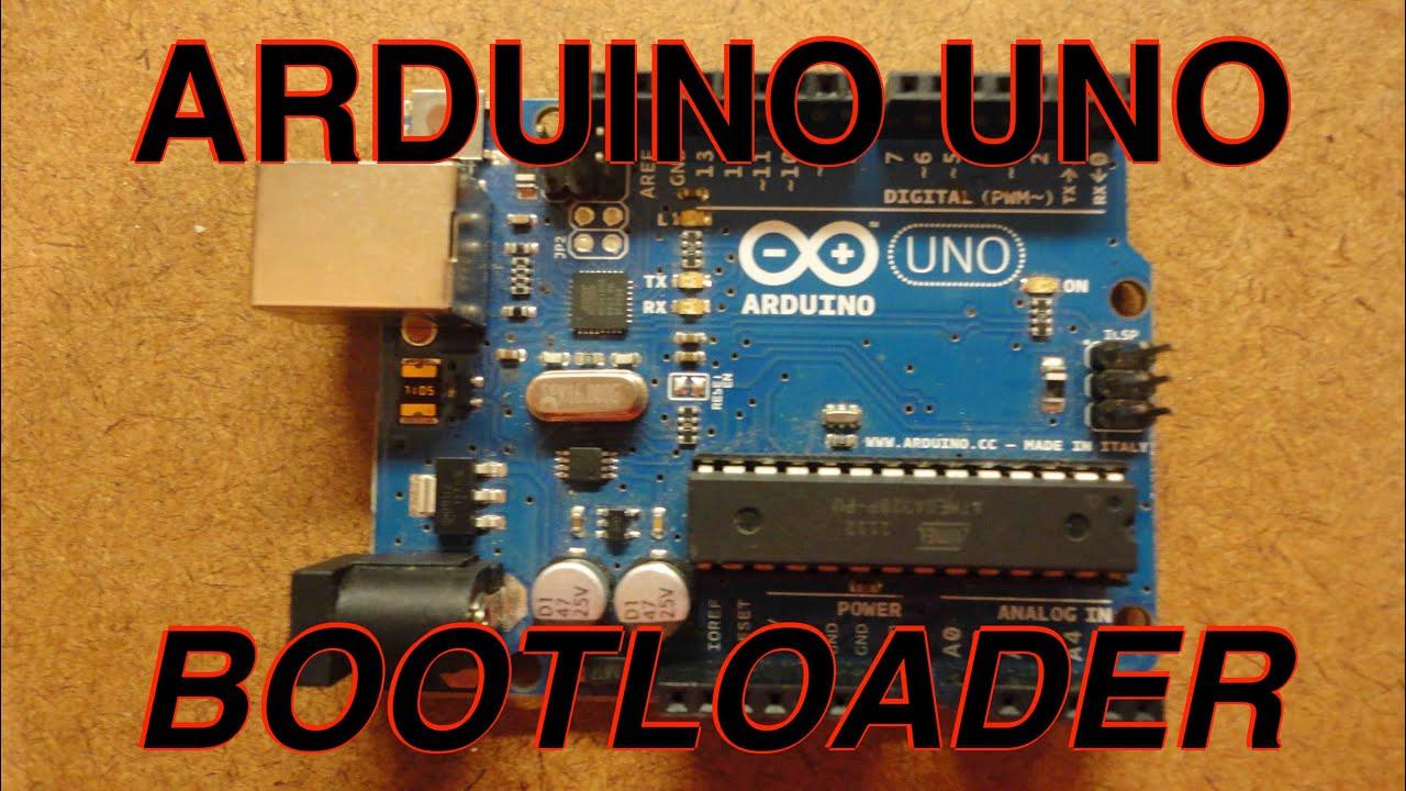 Burn a bootloader onto arduino uno youtube