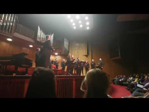 Akustika Perfoms Ave Maria (Frans Biebl) At The Musaion 18-07-2019 - (partial Performance)