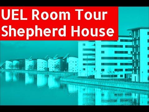 UEL east building room tour