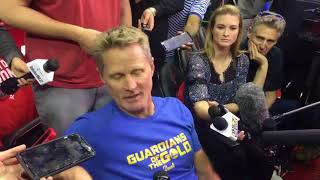 Steve Kerr criticized the NFL for its national anthem policy