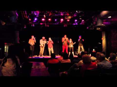 Cartoon Johnny, disco medley (live), 6/16/13 - a cappella