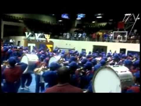 SCSU Marching In vs NSU 2010
