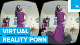 VR Porn is Here and It's Scary Realistic | Mashable CES 2016(Naughty America, one of the U.S.'s largest pornography production companies, invited Mashable's Raymond Wong to try out VR porn in Las Vegas hotel room, ..., 2016-01-08T12:30:00.000Z)
