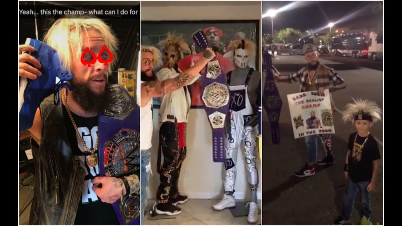 enzo amores cruiserweight title win celebration has officially started