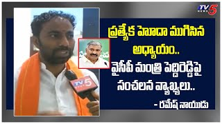 AP Special Status Is An Outdated Subject -BJP Ramesh Naidu Controversial Comments | TV5 News