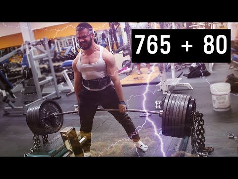 765x3 +80lb Chains Jefferson Block Pull!