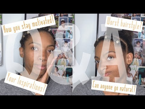 Q&A | YouTube and Natural Hair Tips! thumbnail