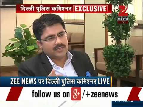 Zee Media Exclusive interview with Delhi Police Commissioner BS Bassi