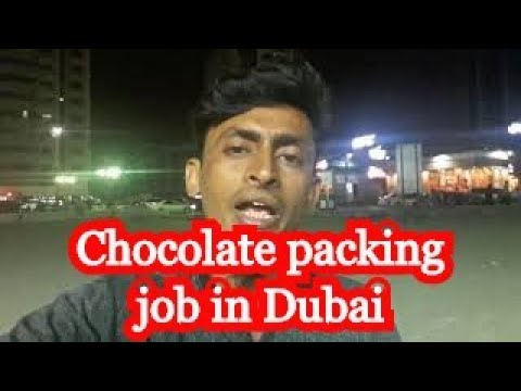 Chocolate packing job in Dubai Visit to Employment Visa