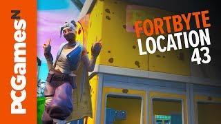 Fortnite Fortbyte guide - Number #43