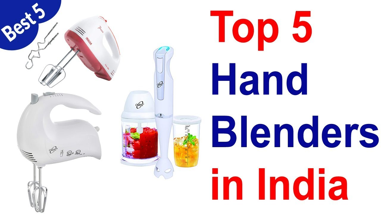 Top 5 Best Hand Mixer in India 2019 - YouTube