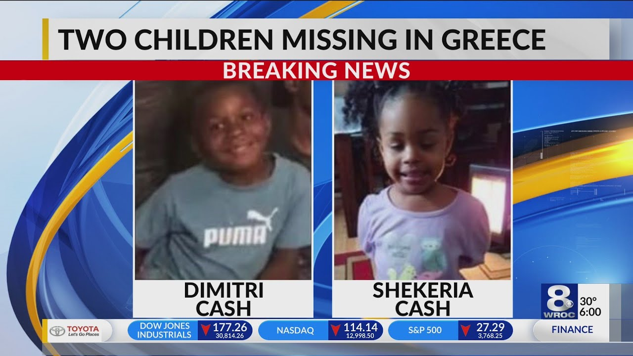 Amber Alert issued for two Greece children
