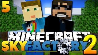 Minecraft SkyFactory 2 - Mob Grinder Troll? [5]