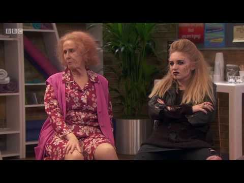 Catherine Tates Nan S01E01 Nanger Management courtesy of the BBC