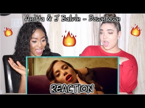 Anitta & J Balvin - Downtown     REACTION