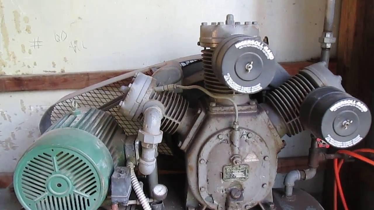 10 HP Ingersoll Rand T30 Air Compressor