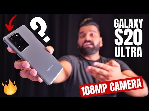 Samsung Galaxy S20 Ultra First Look - The KING of Smartphones!!!🔥🔥🔥