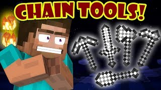 Why Chainmail Tools Don't Exist - Minecraft