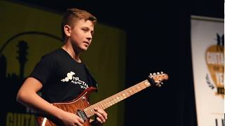 Young Guitarist of the Year 2018 winner Hunter Hal
