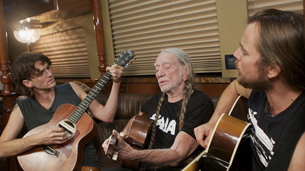 Willie Nelson And His Sons Discuss Growing Up On Tour And Performing