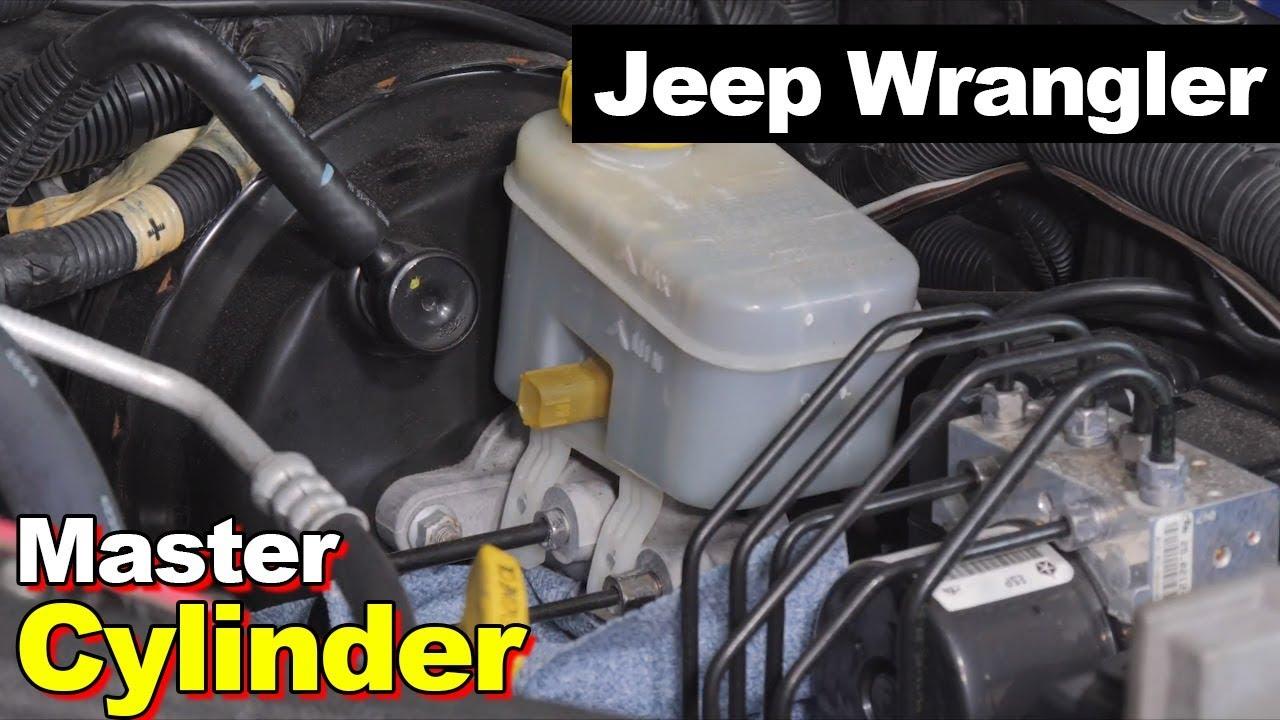 2007 2017 jeep wrangler jk bench bleed brake master cylinder [ 1280 x 720 Pixel ]