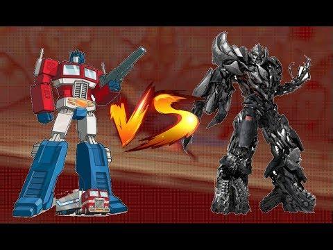 ► Transformer Robot Fighting 3D - Optimus Prime Vs Megatron Vs Enforce