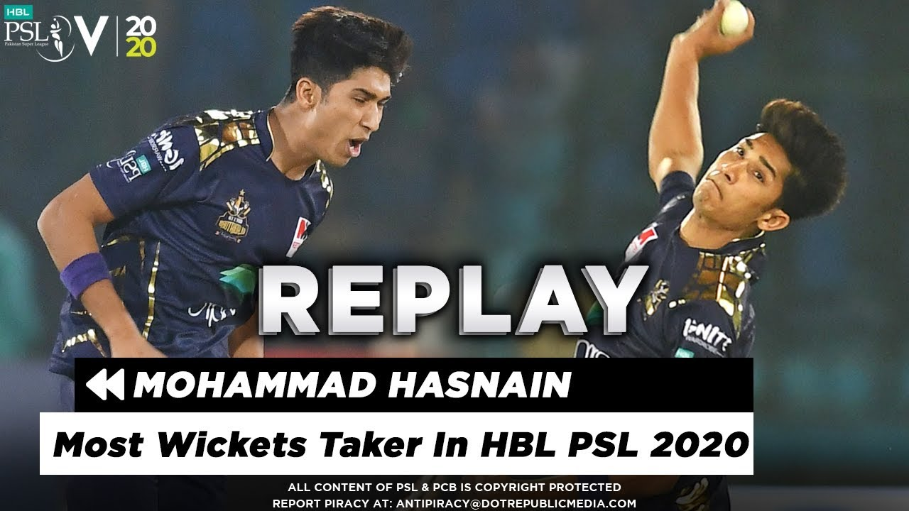 Every  Mohammad Hasnain Wicket in HBL PSL 2020